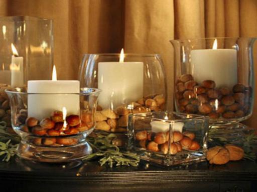 christmas-center-piece-ideas-with-hazel-nut