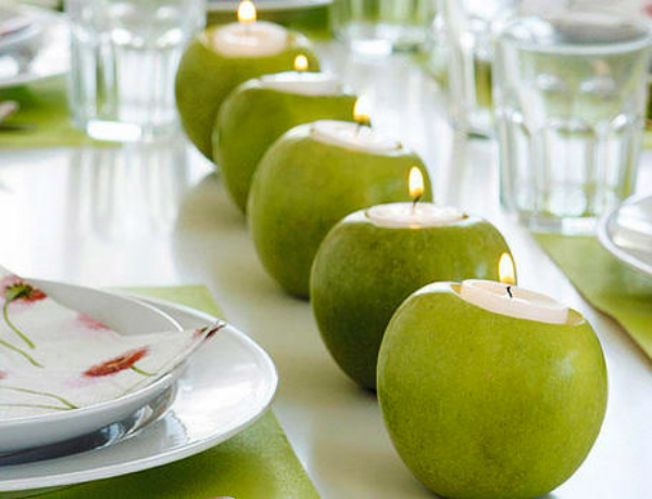 תפוחים מוארים