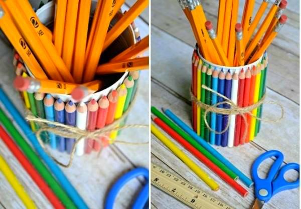 מתקן עפרונות ממוחזר