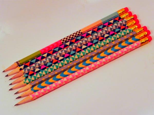 שדרוג עפרונות עם וואשי טייפ