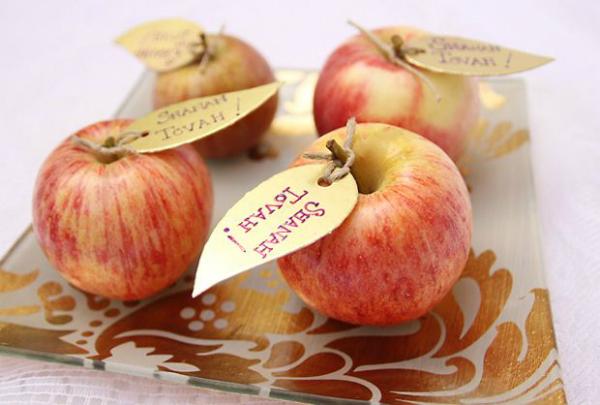 תפוח עם שנה טובה